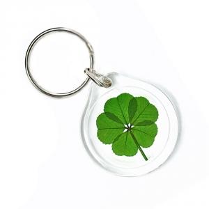 5 Leaf Clover Keychain