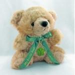 5 Leaf Clover Honey Lucky Teddy Bear