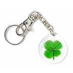 Four Leaf Clover Trigger Snap Keychain